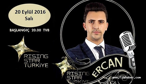 Ercan Özalp Rising Star'da FİNAL'de