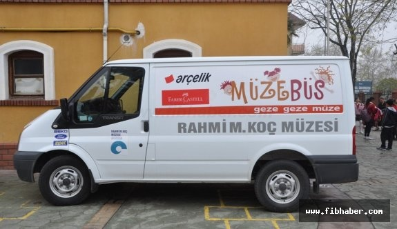 Müzebüs Nevşehirli öğrencilerle buluşacak