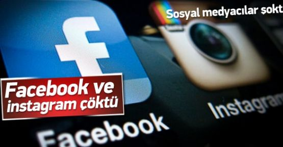 Facebook ve Instagram Çöktü