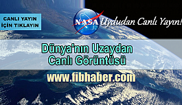 NASA'dan canlı yayındayız ! İşte Uzaydan Canlı yayın Görüntüleri
