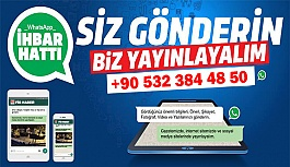 Nevşehir'in Sesi FİB Haber Gazetesi WhatsApp İhbar ve Şikayet Hattı